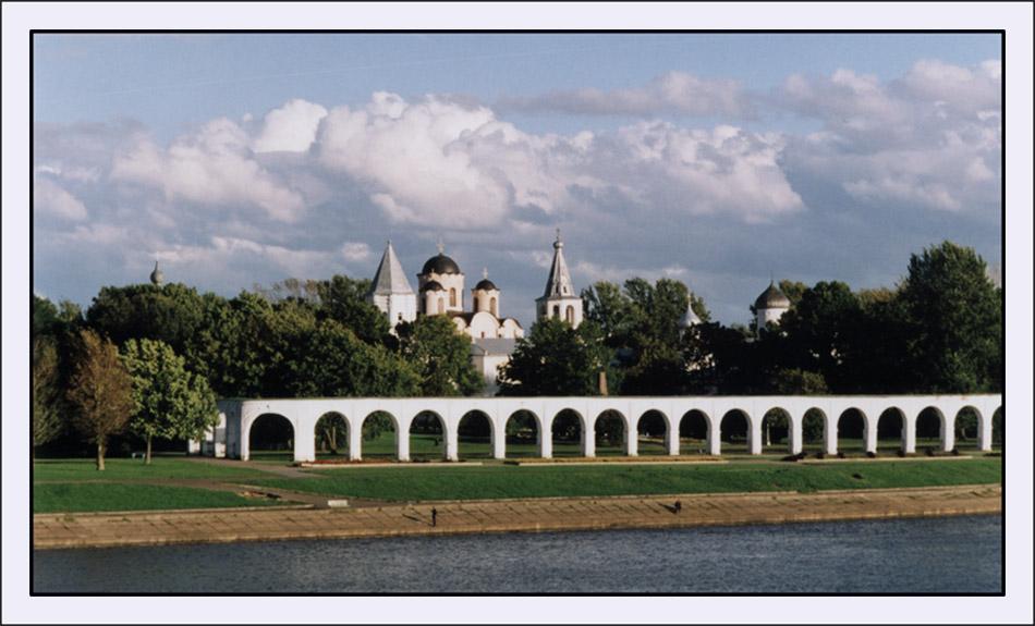 """фото """"Ярославово Дворище"""" метки: путешествия, архитектура, пейзаж, Европа"""