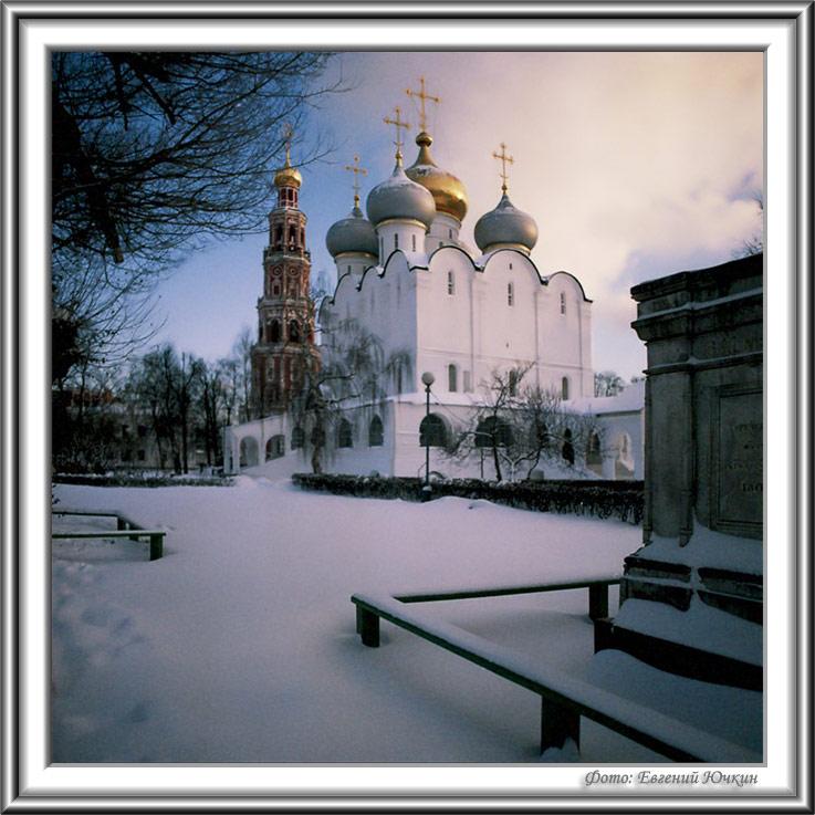 """фото """"Зима в монастыре"""" метки: архитектура, пейзаж,"""