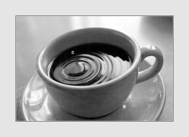 "photo ""Drop matutinal coffee"" tags: still life,"