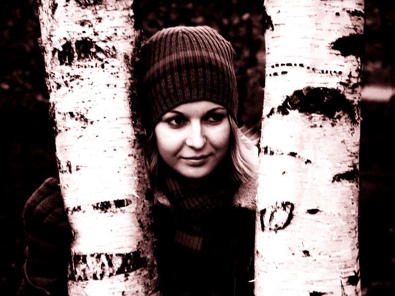 """фото """"Оли4 #2"""" метки: портрет, черно-белые, женщина"""