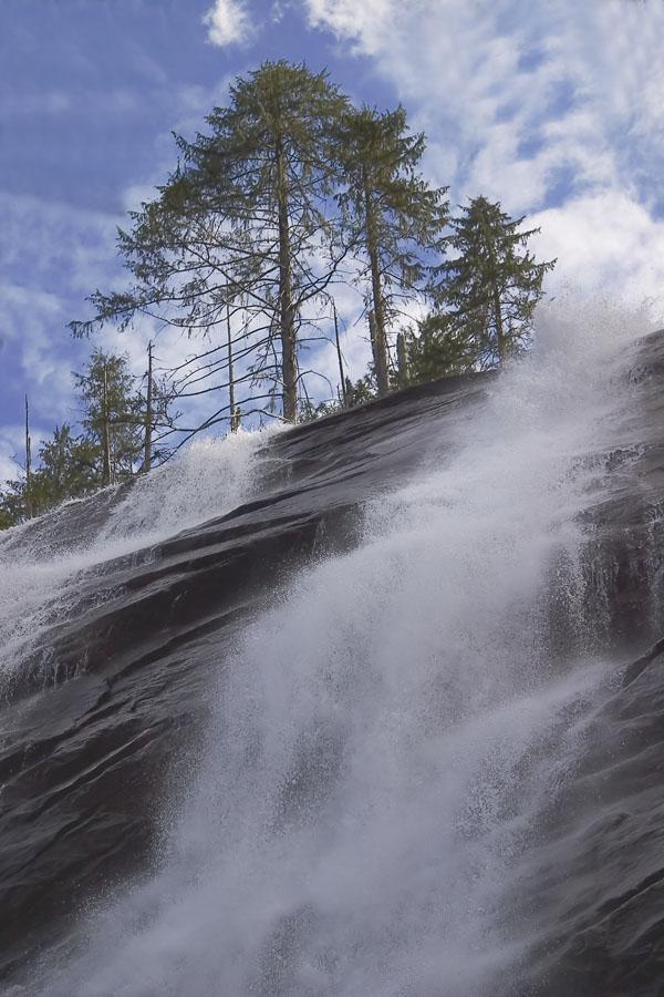 "фото ""Bridal Falls"" метки: пейзаж, лес"