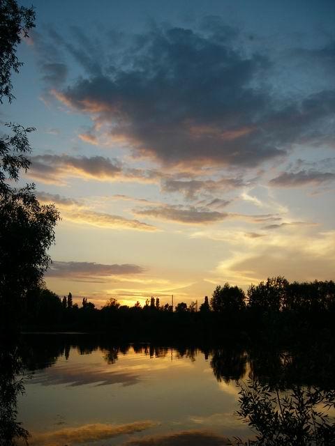 """фото """"Золотой закат над Волгой"""" метки: пейзаж, закат"""