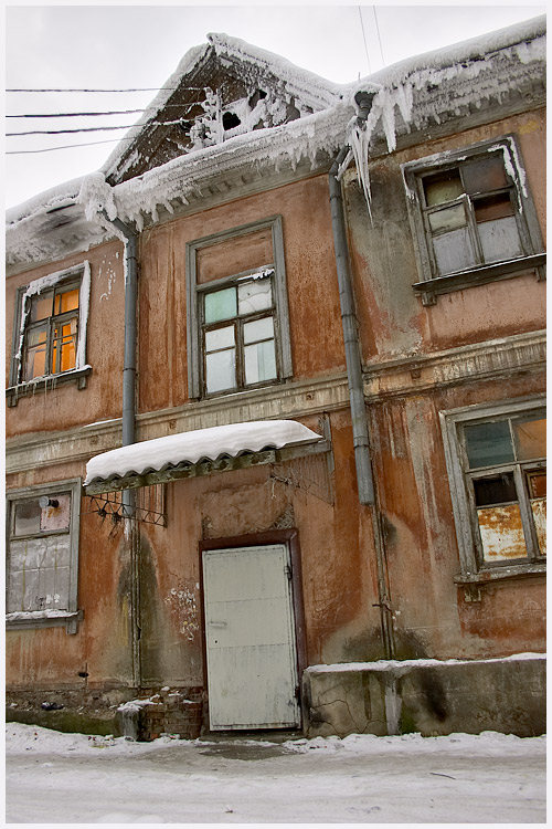 """фото """"мороз и халупа"""" метки: пейзаж, зима"""