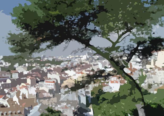 """фото """"Lisbon"""" метки: фотомонтаж, жанр,"""