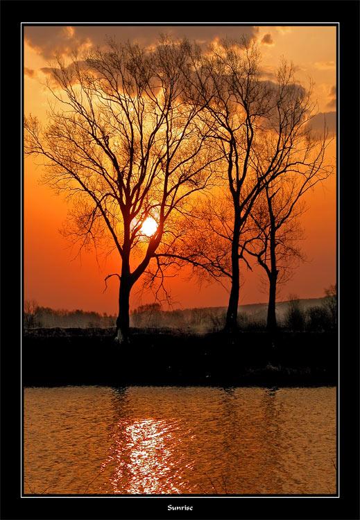 """фото """"Sunrise"""" метки: пейзаж, весна, закат"""