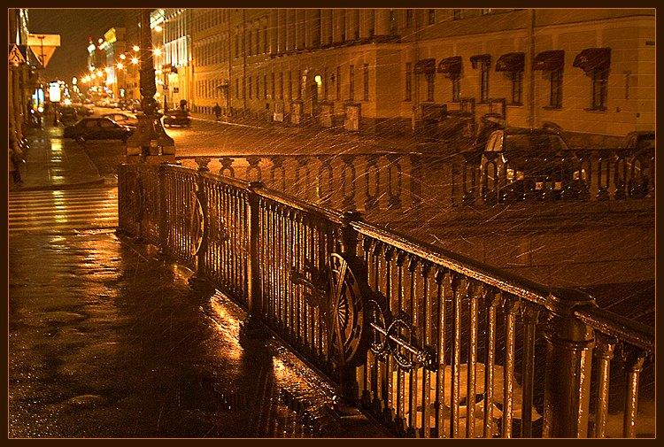 """фото """"дождь в Питере(3)"""" метки: архитектура, пейзаж,"""