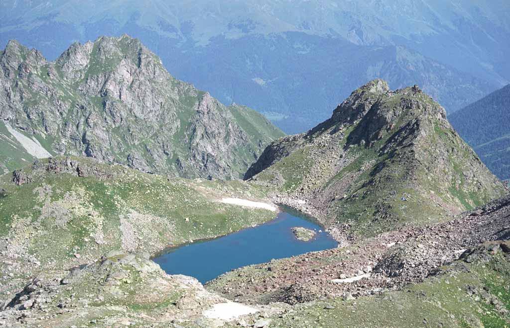 """фото """"Озеро Верхняя запятая"""" метки: разное, пейзаж, горы"""