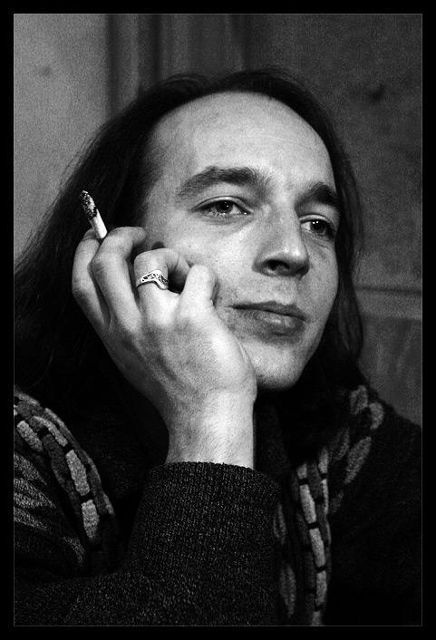 "фото ""Сергей"" метки: черно-белые, портрет, мужчина"
