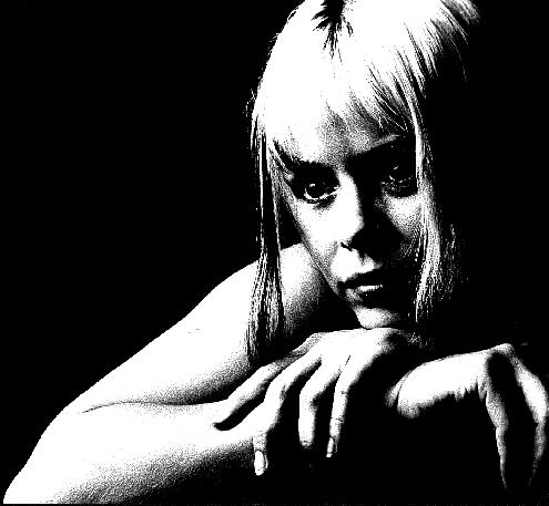 """фото """"Dispair 1"""" метки: портрет, черно-белые, женщина"""