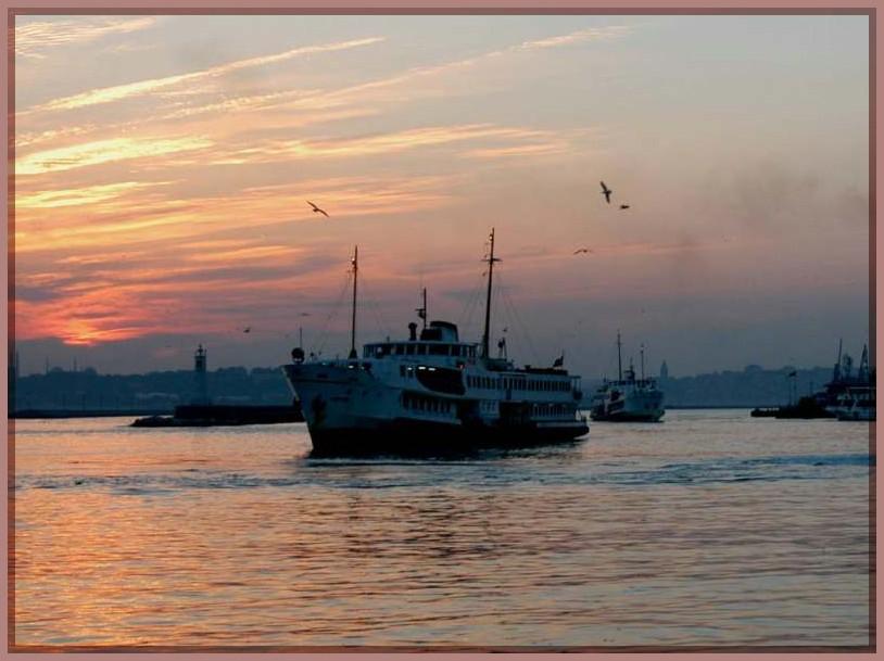 """фото """"The Steamer"""" метки: пейзаж, закат"""