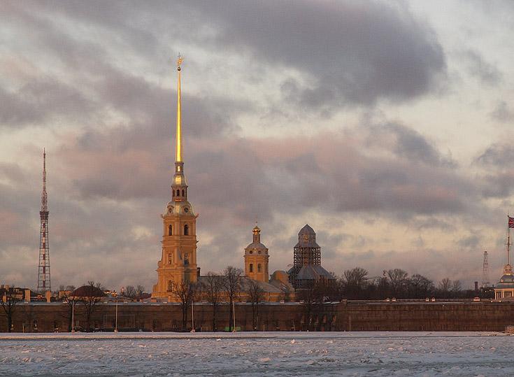 "фото ""31 декабря. Питер."" метки: пейзаж, архитектура, зима"
