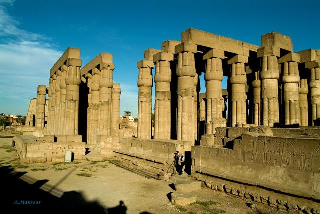 "фото ""Luxor Temple"" метки: пейзаж, путешествия, Африка"
