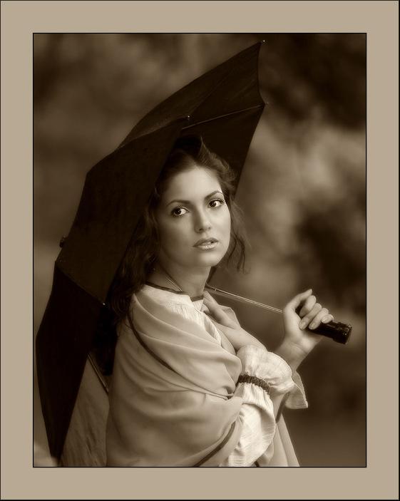 "фото ""old time"" метки: портрет, женщина"