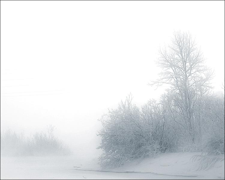 """фото """"На Енисее"""" метки: пейзаж, природа, зима"""
