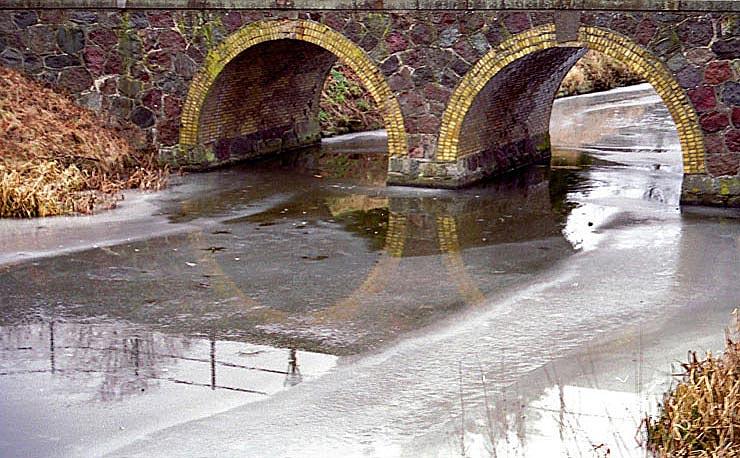 """фото """"Ice-water"""" метки: пейзаж, вода, зима"""