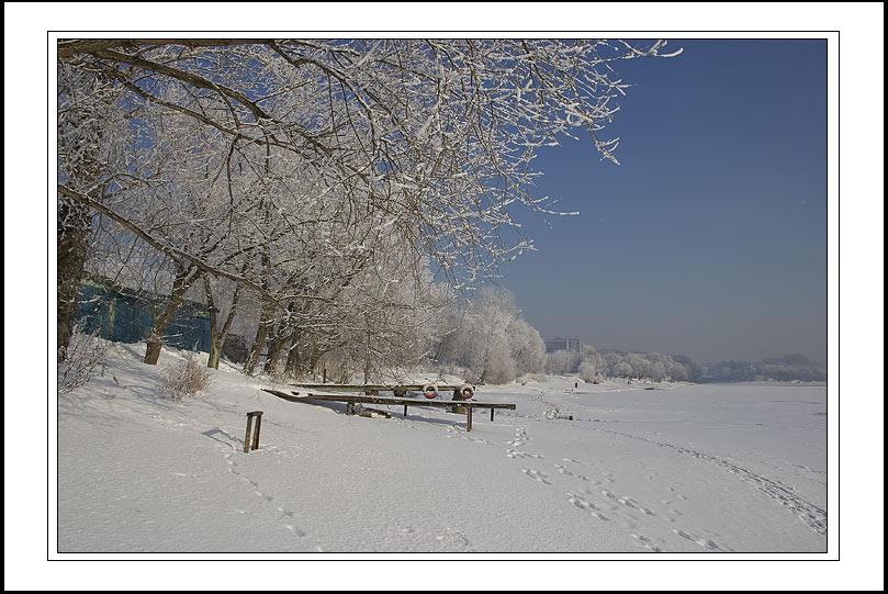 """фото """"б/н"""" метки: пейзаж, зима"""