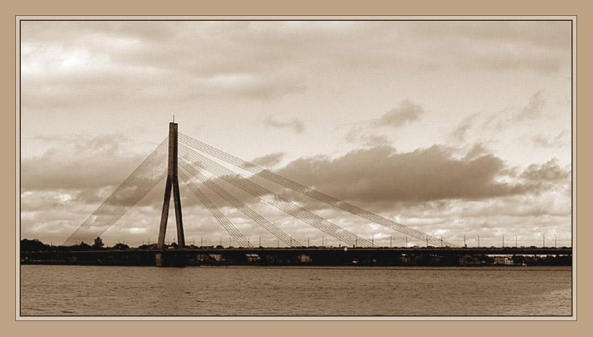 """фото """"Рижский мост"""" метки: путешествия, Европа"""