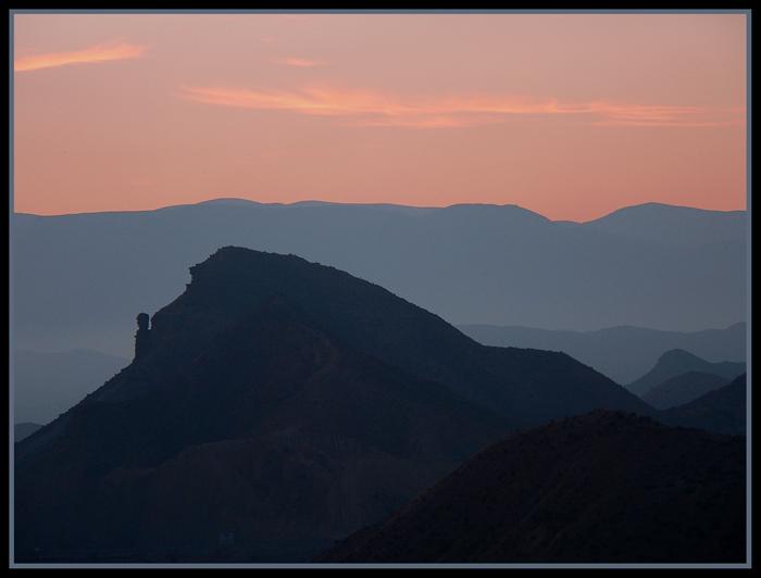 """фото """"Layers"""" метки: пейзаж, горы, закат"""