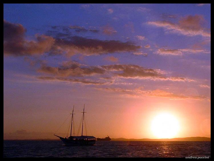 """фото """"""""Sunset - Salvador - Brazil"""""""" метки: путешествия, Южная Америка"""