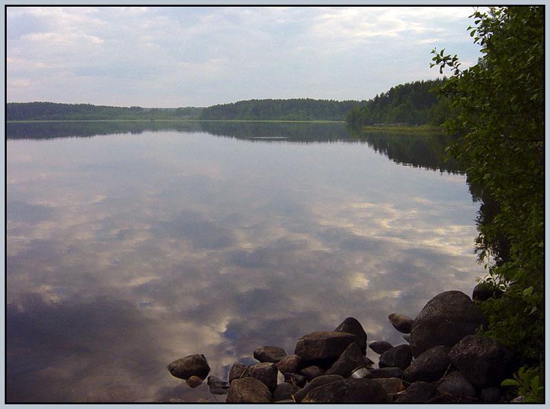 """фото """"Утро  (3)"""" метки: пейзаж, вода, облака"""