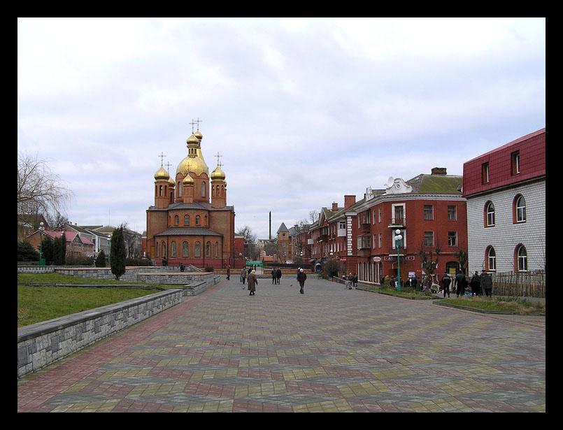 "фото ""Жмеринка. Центр."" метки: путешествия, архитектура, пейзаж, Европа"