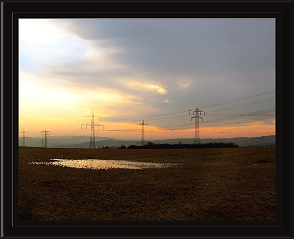 """фото """"lighting road"""" метки: пейзаж, закат"""