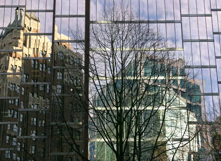 """фото """"Отражение"""" метки: путешествия, архитектура, пейзаж, Северная Америка"""