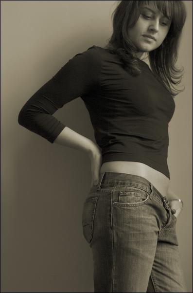 """фото """"Ира"""" метки: портрет, черно-белые, женщина"""