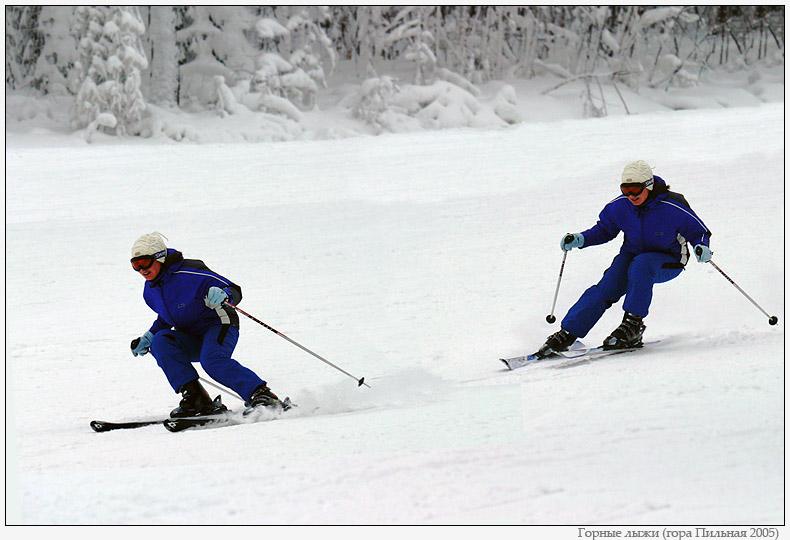 """фото """"Горные лыжи"""" метки: спорт,"""