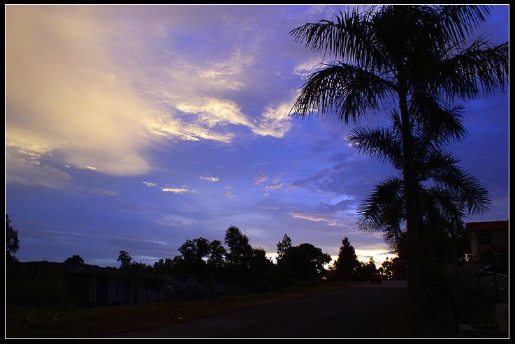 """фото """"на закате"""" метки: пейзаж, закат, облака"""
