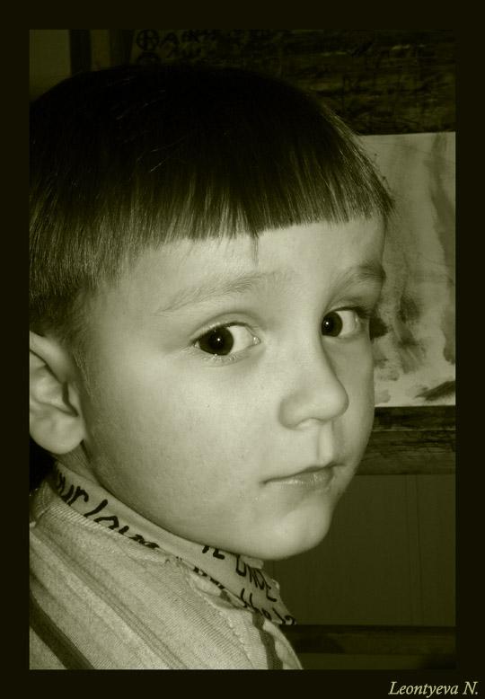 "фото ""Look at me!"" метки: портрет, жанр, дети"