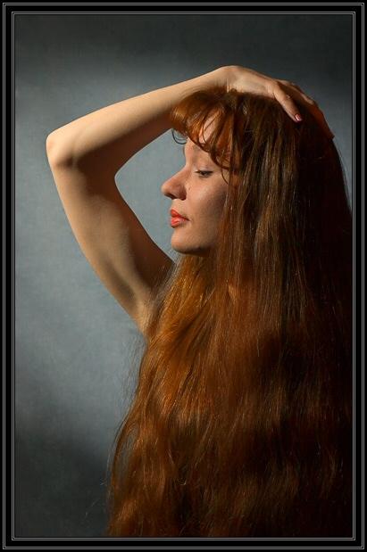 """фото """"Поток волос  запрятал утро...Откройтесь – океаны г"""" метки: портрет, женщина"""