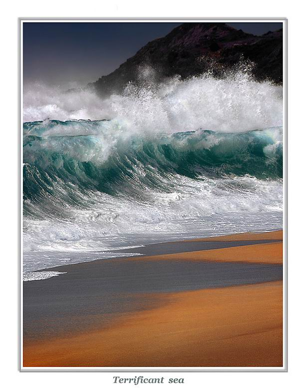 "фото ""Terrificant sea"" метки: пейзаж, вода"