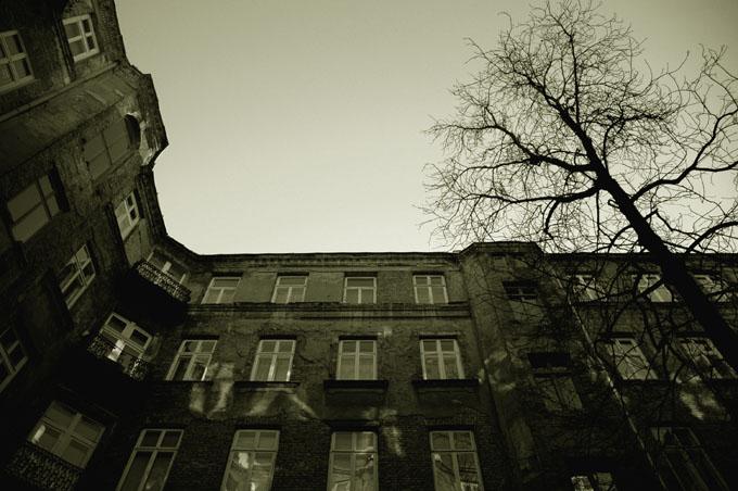 """фото """"in Warsaw"""" метки: черно-белые,"""