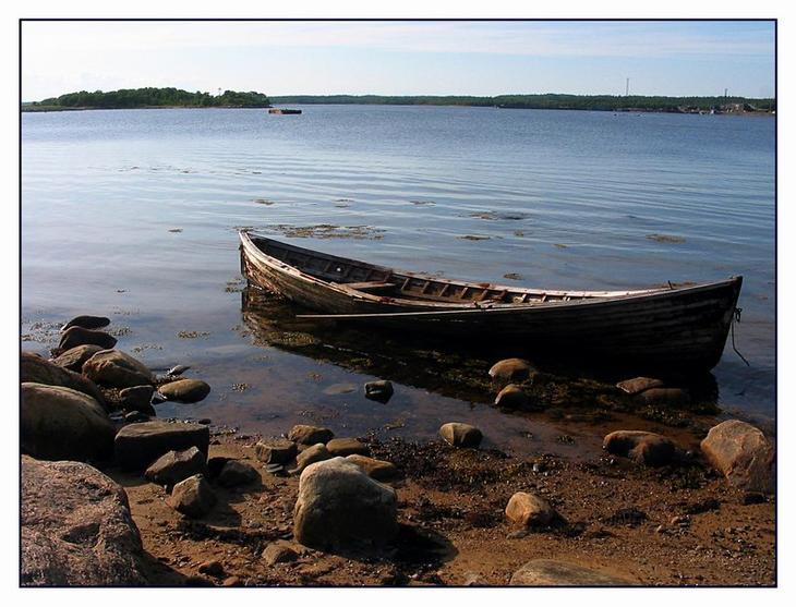 """фото """"У берега белого"""" метки: пейзаж, вода, лето"""