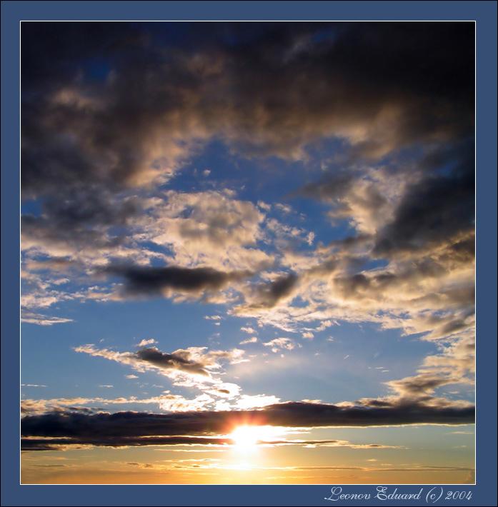 "фото ""Проводы солнца"" метки: пейзаж, закат"