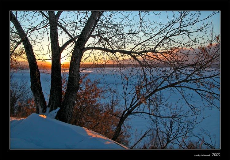 "фото ""Blue winter etude"" метки: разное, пейзаж, зима"