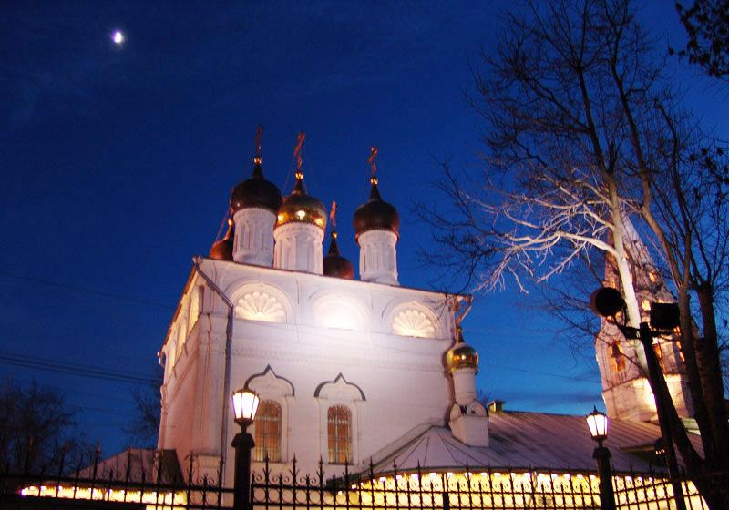 "фото ""Ночь над храмом"" метки: жанр,"
