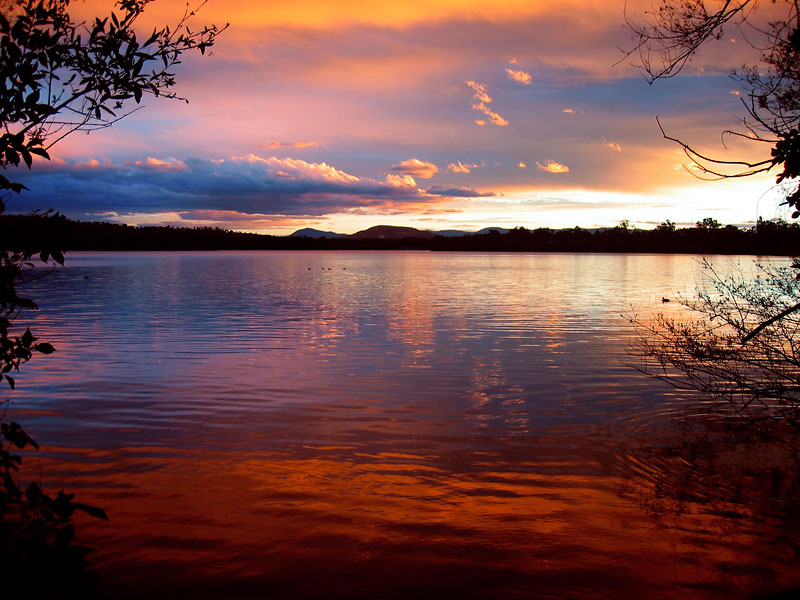 "фото ""Evening Rhapsody"" метки: пейзаж, вода, закат"