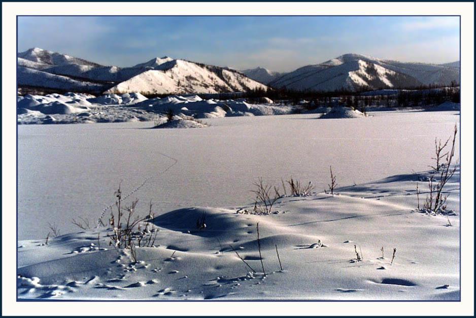 """фото """"Колымский пейзаж"""" метки: пейзаж, природа, зима"""
