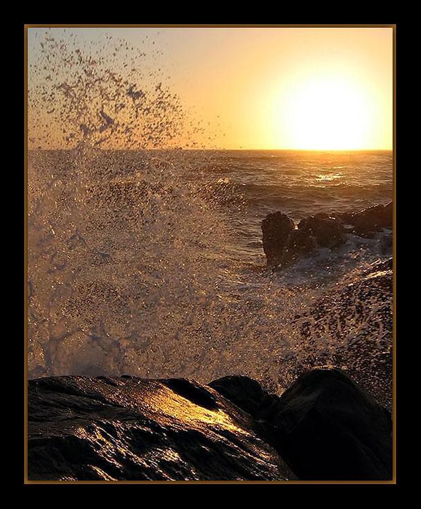 "фото ""feeling the power of sea"" метки: пейзаж, вода"