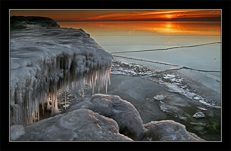 "фото ""Перед рассветом"" метки: пейзаж, закат, зима"