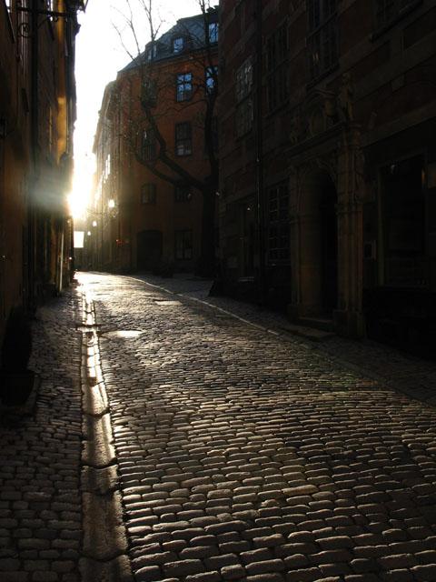 "фото ""Улочка Гамластана"" метки: архитектура, путешествия, пейзаж, Европа"