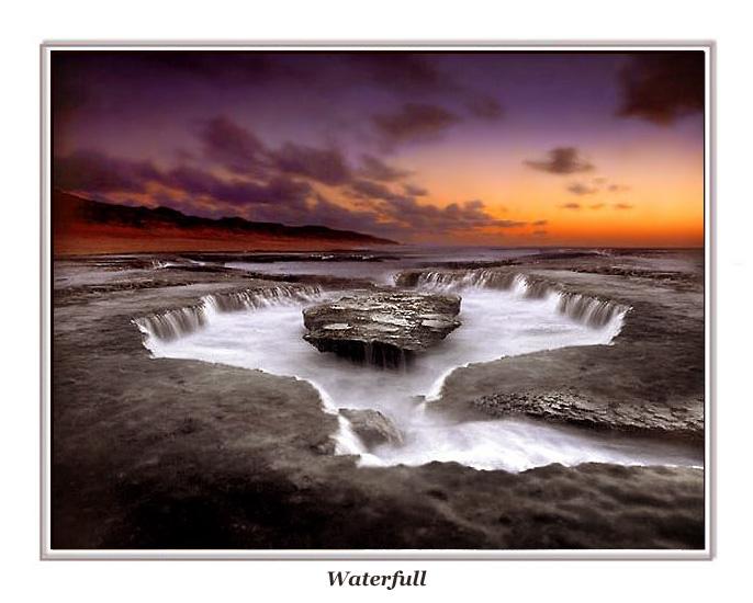 """фото """"Waterfull"""" метки: пейзаж, закат"""