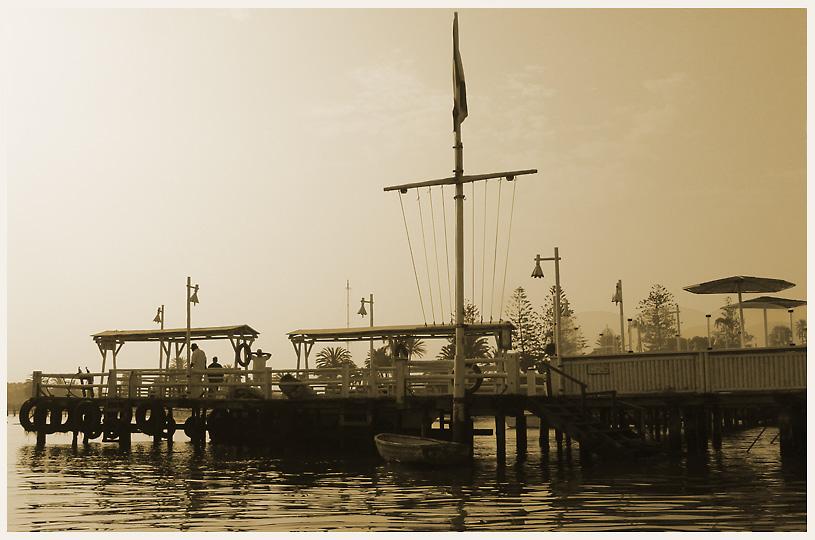 """фото """"Belle epoque pier"""" метки: пейзаж, вода"""