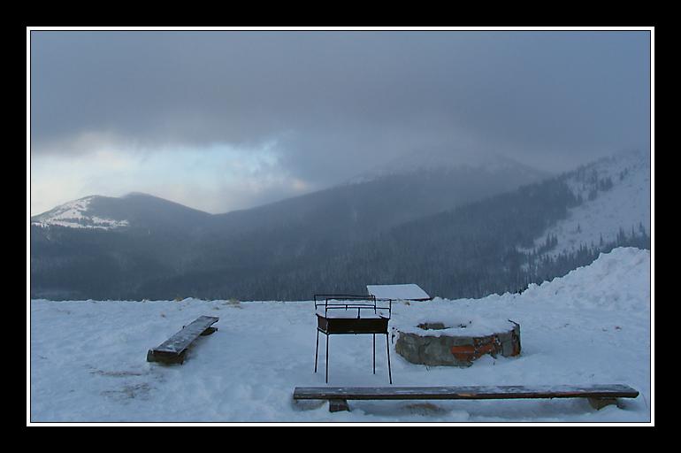 """фото """"Пикник"""" метки: пейзаж, природа, горы"""