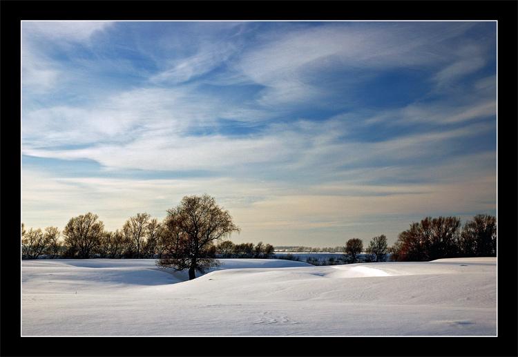 """фото """"Дыхание"""" метки: пейзаж, зима, облака"""