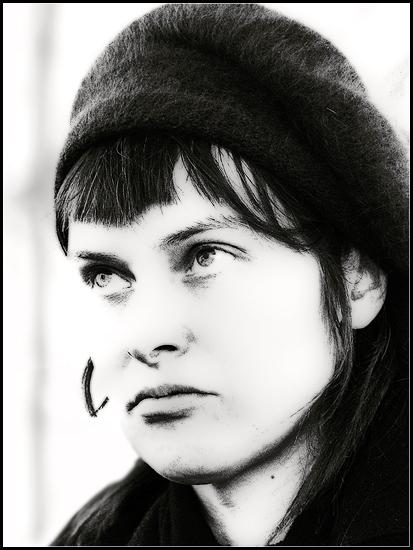 """фото """"hk"""" метки: портрет, черно-белые, женщина"""