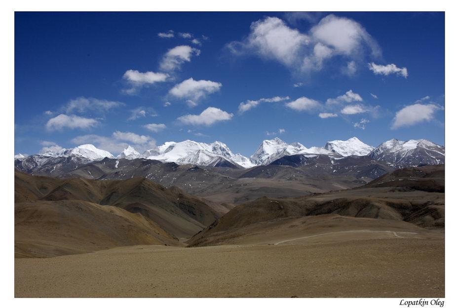 """фото """"Основной Гималайский хребет"""" метки: путешествия, пейзаж, Азия, горы"""