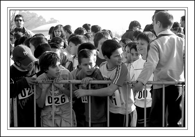 "фото ""Small athlets"" метки: спорт, черно-белые,"